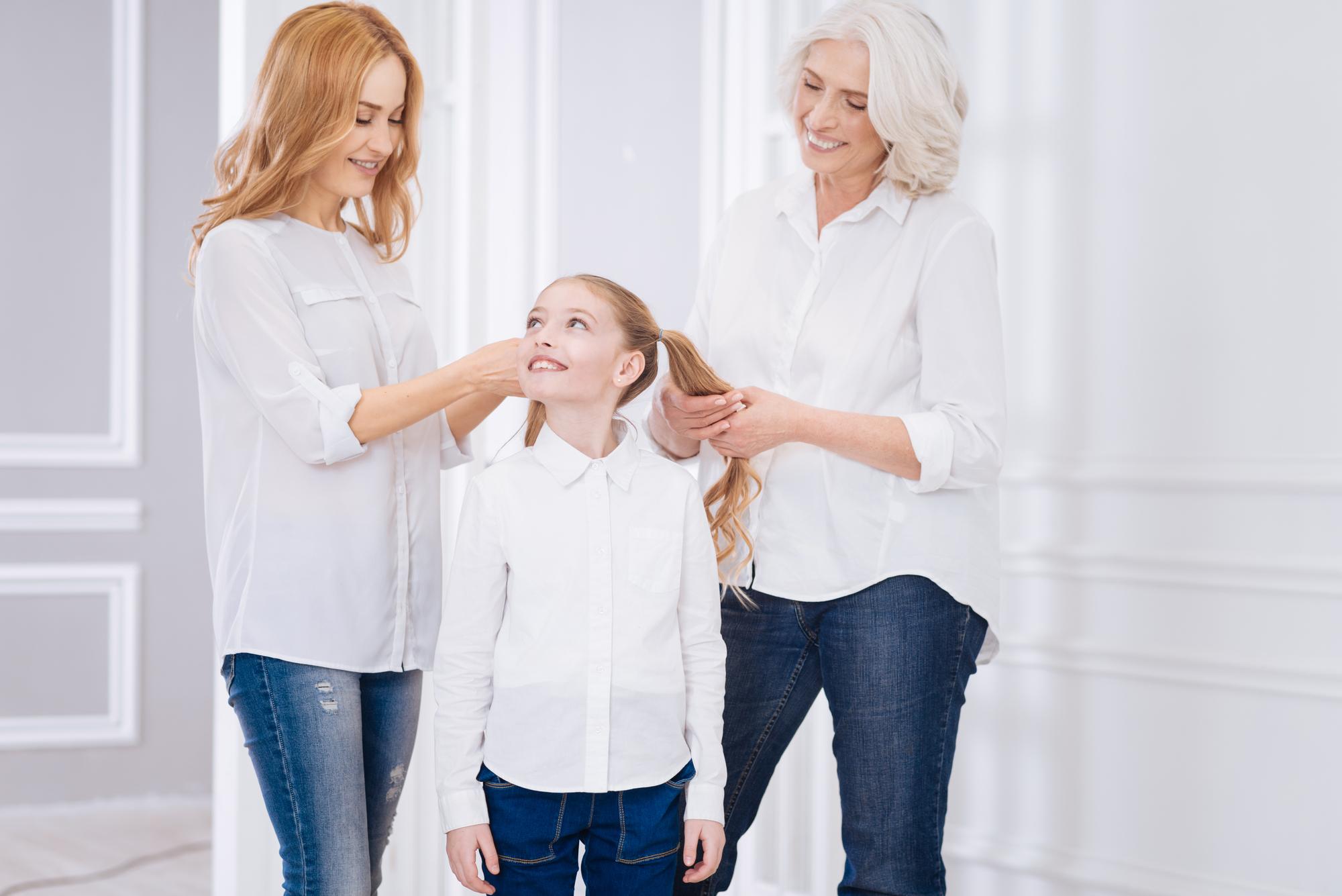 Kvinderne i familien