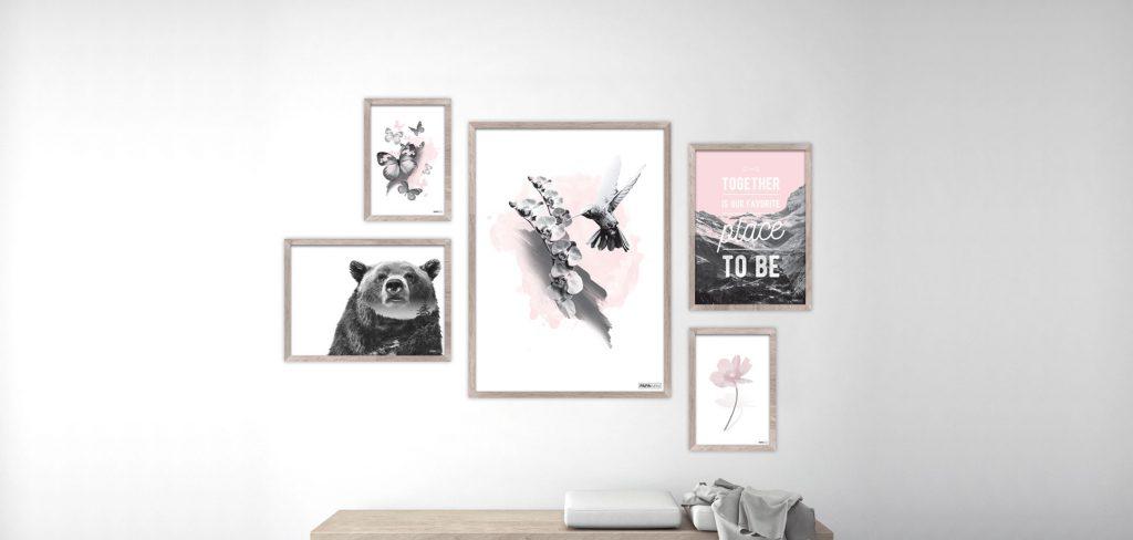 Pink plakat serie