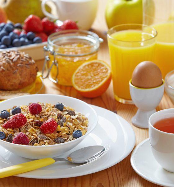 Sund og nærende morgenmad