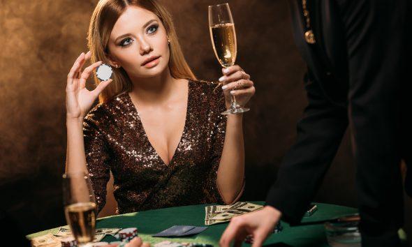 Kvindelig pokerspiller