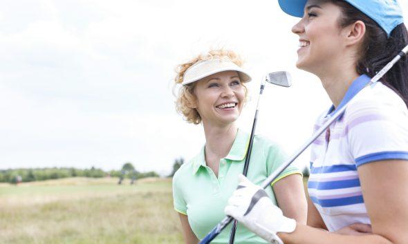 Kvindelige golfspillere