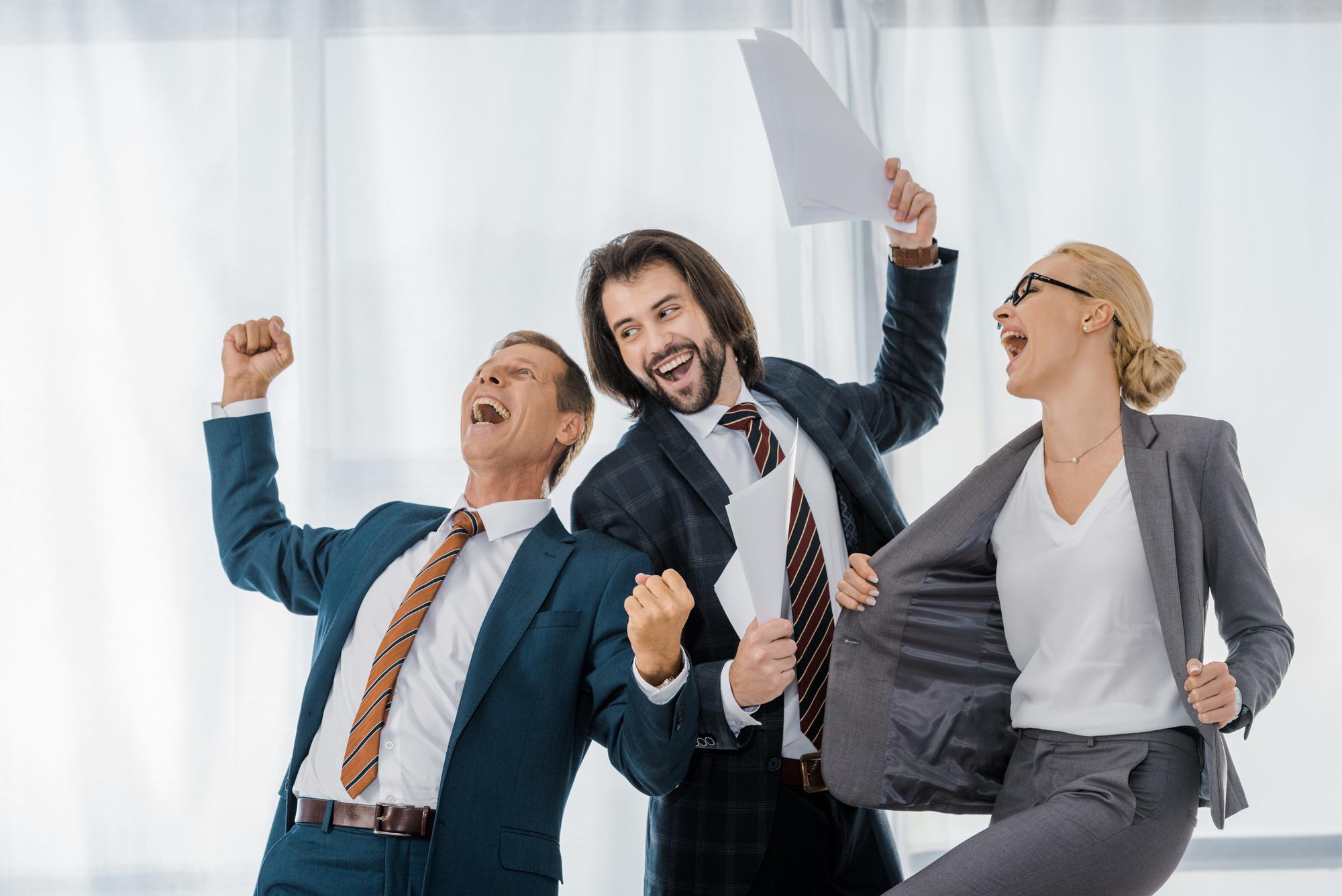 Glade ansatte