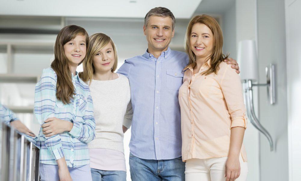 Velfungerende familie
