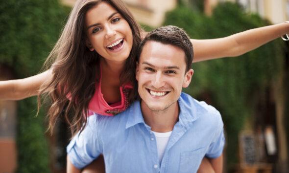 Glad mand og kvinde